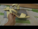 Босоножки Арт. 615-1 лимон кожа