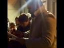 Автографсессия на служебном входе Парижской оперы 22.1017.