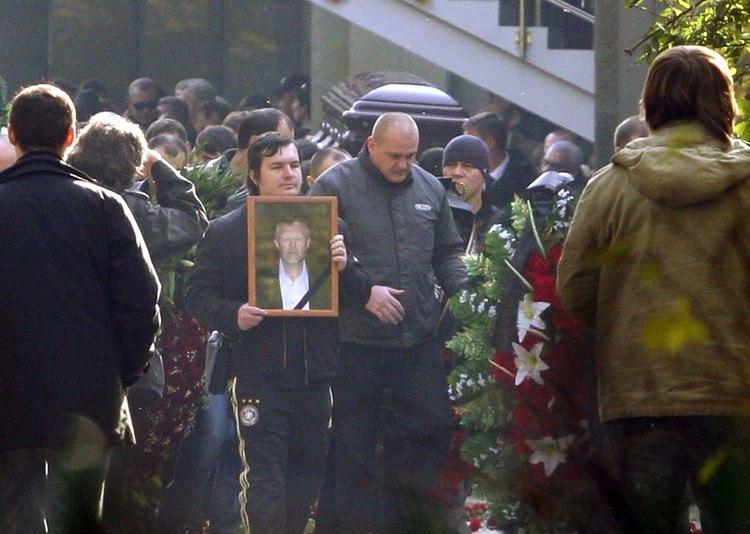 Похороны Вячеслава Иванкова (Япончика)
