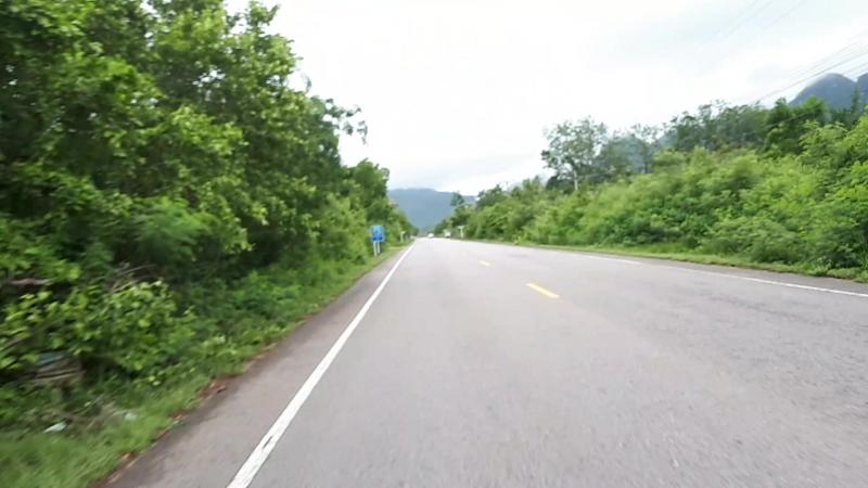 Дорога на Sam Roi Yot National Park