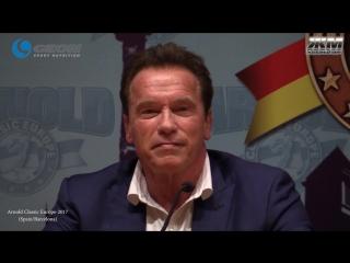 Шварценеггер о спортивной и политической карьере, а также о признании бодибилдинга олимпийским...