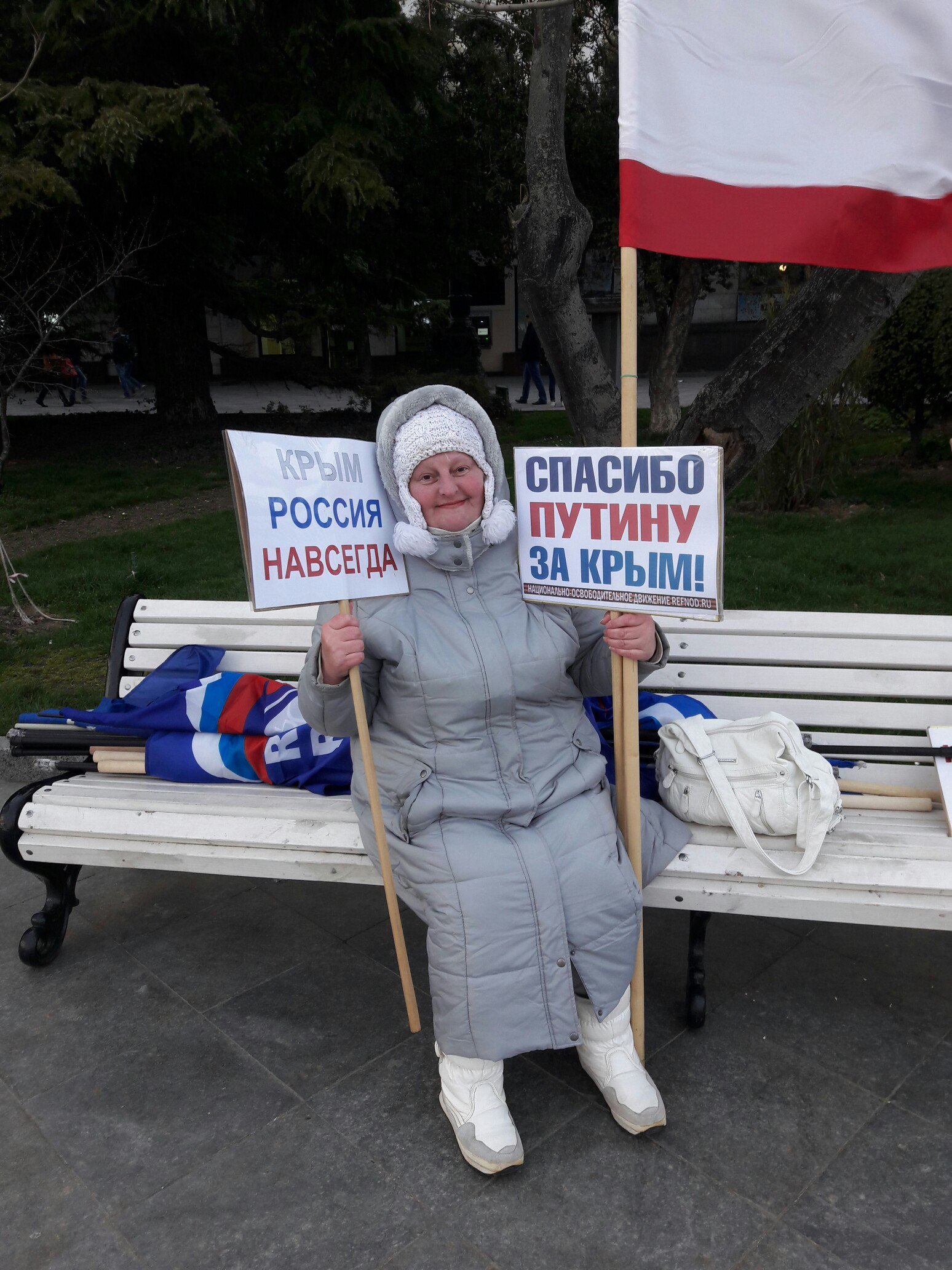 Фоторепортаж: Крымская весна в Ялте