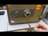 Сейф BS-D320 ключи потеряны,код забыт,открыт без повреждения