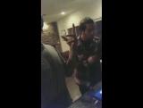 VIDEO 170202 Elliott Yamin &amp Sanjoy слушают