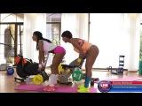 Fitness Workout - Isabella Chrystin &amp Sade Rose