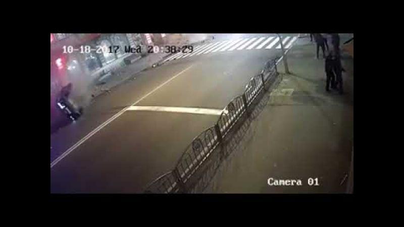Наезд мажорки на пешеходов в Харькове (18.10.2017)