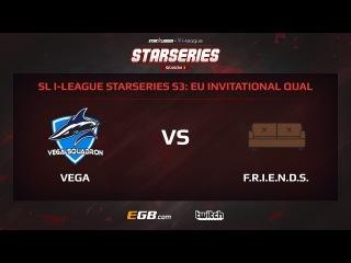 Vega Squadron vs F.R.I.E.N.D.S, Game 3, SL i-League StarSeries Season 3, EU