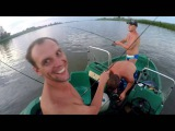 Рыбалка в Дельте Волги. Ловим троллингом. Рыбалка на сазана