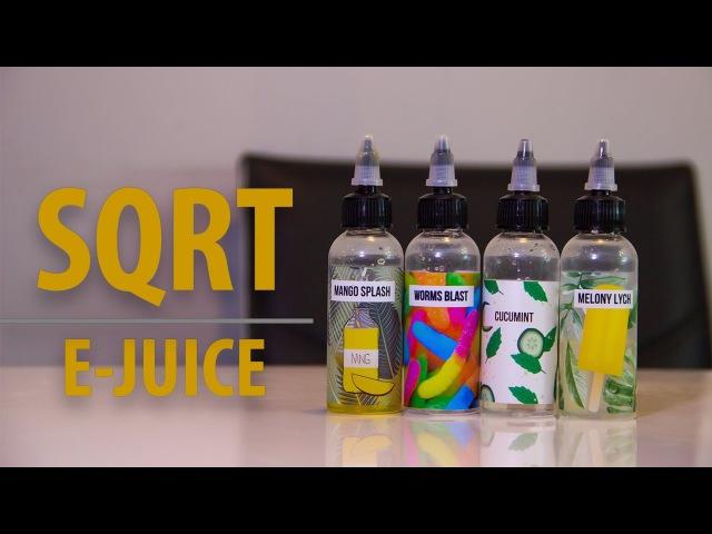 Обзор жидкости SQRT | E-JUICE
