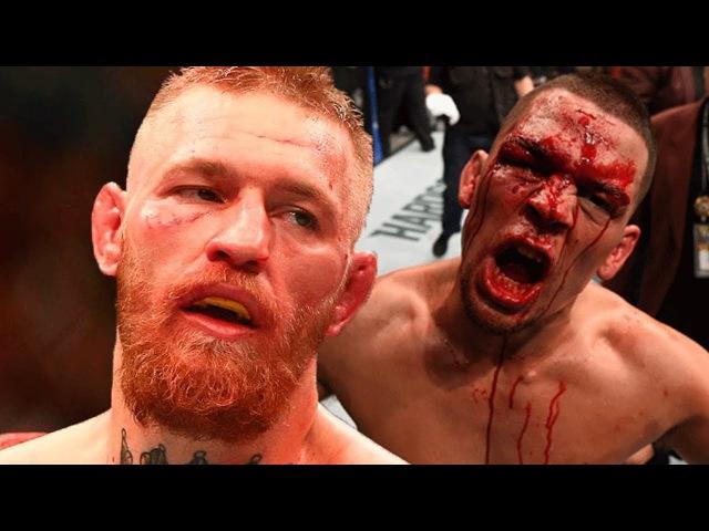 МАКГРЕГОР - ДИАЗ / УНИЖЕНИЕ ПЕТУХА НА UFC 196!