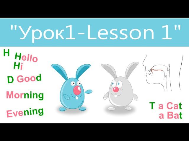Английский язык для детей и начинающих Урок 1