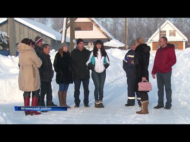 Жители села Акбердино Иглинского района жалуются на постоянные перепады напряжения в электросети