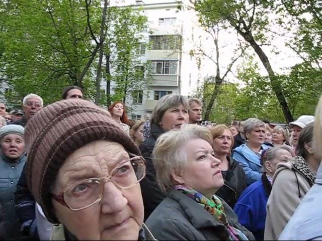 Встреча по реновации в Перово