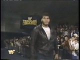 Adam Bomb vs. Mike Davis  Giant Gonzalez Babyface Turn (10-24-1993)