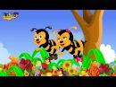 Burnie Bee   Children's Nursery Rhyme With Lyrics   English Nursery Rhymes