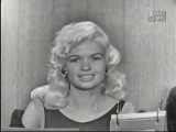 What's My Line - Jayne Mansfield Don Ameche panel (Aug 4, 1957)