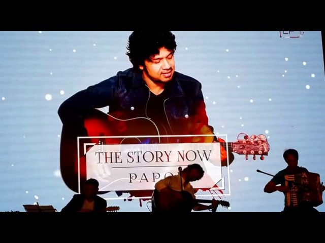 Launch of Papon's Album -The Story Now - by Saavn