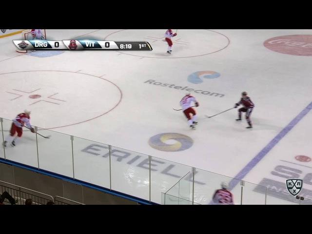 КХЛ (Континентальная хоккейная лига) - Моменты из матчей КХЛ сезона 16/17 - Гол. 1:0. Толузаков Фили