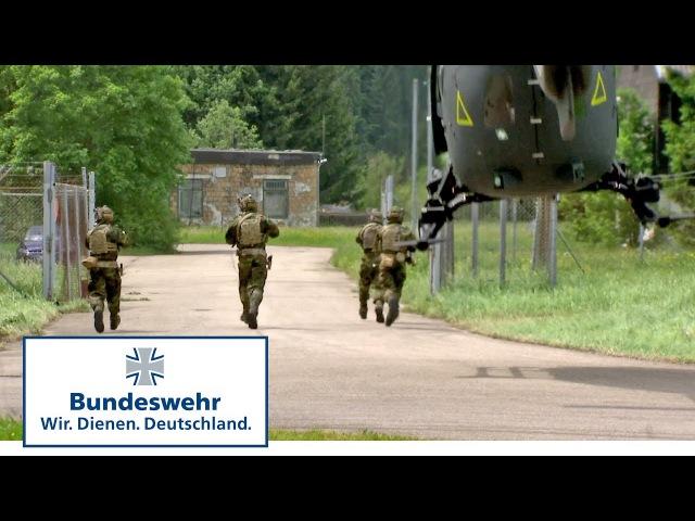 """Bundeswehr Übung """"Resolute Solution KSK übt mit ABC Abwehr"""