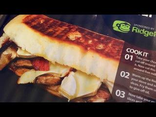 Brie, Chorizo and Portobello Mushroom Panini in the RidgeMonkey XL