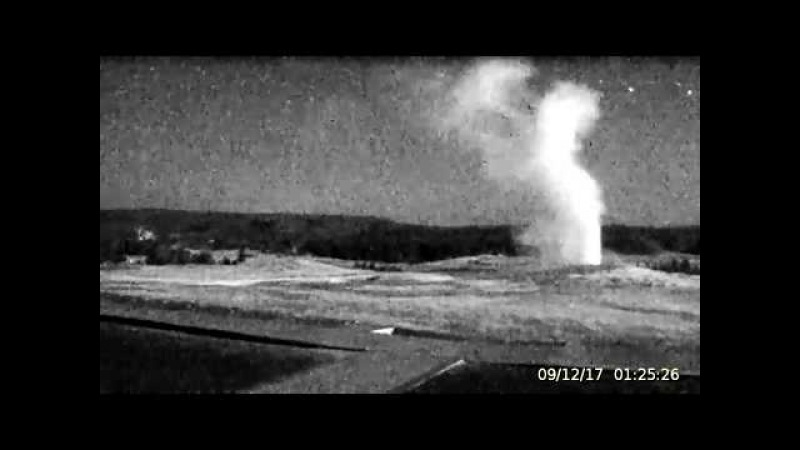 Things R Flying All Over Yellowstone! Overnight Sept.11th -12th, 2017