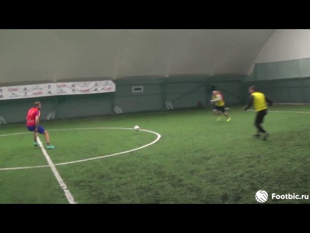 FOOTBIC.RU. Видеообзор 29.10.2017 (Метро Марьина Роща). Любительский футбол