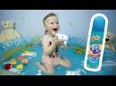 Красим Воду Пеной Баффи / We paint water with foam Baffy