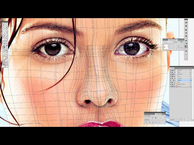 How to Create Eyes with Gradient Mesh Tool in Illustrator (tutorial)