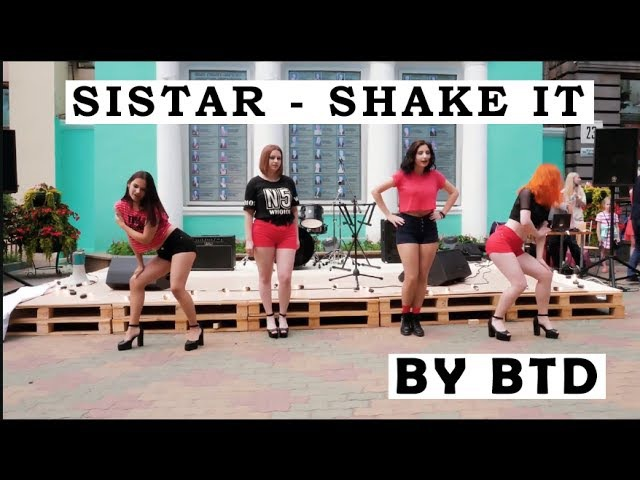 SISTAR - SHAKE IT cover by [Before The Dawn (BTD)]