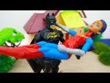 #Супергерои: Бэтмен против Джокера! Чудо женщина в опасности! Игры #пираты, видео ...