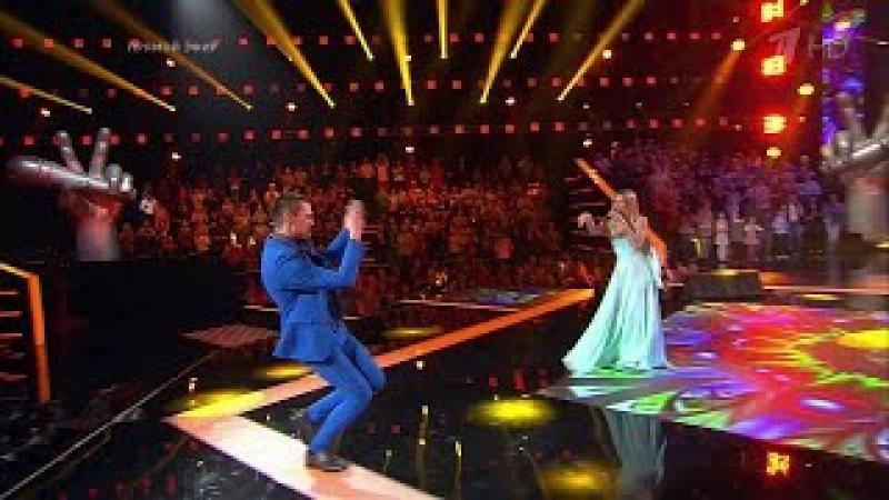 Голос дети 4 сезон: Вера Брежнева и Власенко, Качурак, Пак - Любовь спасет мир HD 1080p