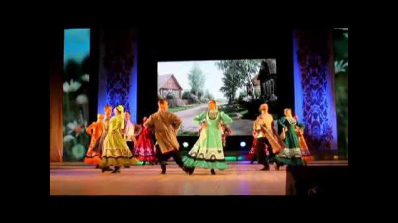 уральский хор. фрагменты с гала-концерта. 8 фестиваль народного танца на приз Оль...