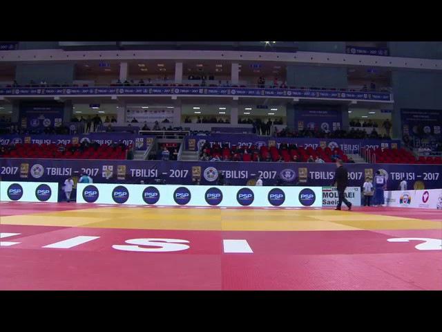 Semi-Final -81 Kg MOLLAEI Saeid KHUBETSOV Tbilisi Grand Prix 2017