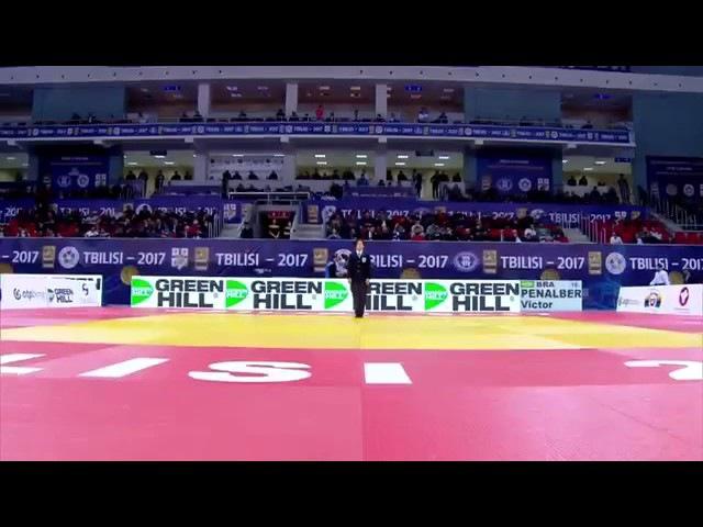 Final -81 Kg PENALBER Victor KHUBETSOV Alan Tbilisi Grand Prix 2017