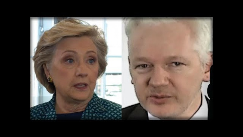 JULIAN ASSANGE JUST UNLEASHED A HELLISH SURPRISE ON HILLARY CLINTON… THIS IS HUGE