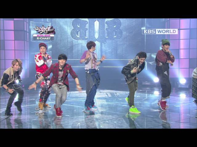 [Music Bank K-Chart] BTOB - WOW (2012.09.26)