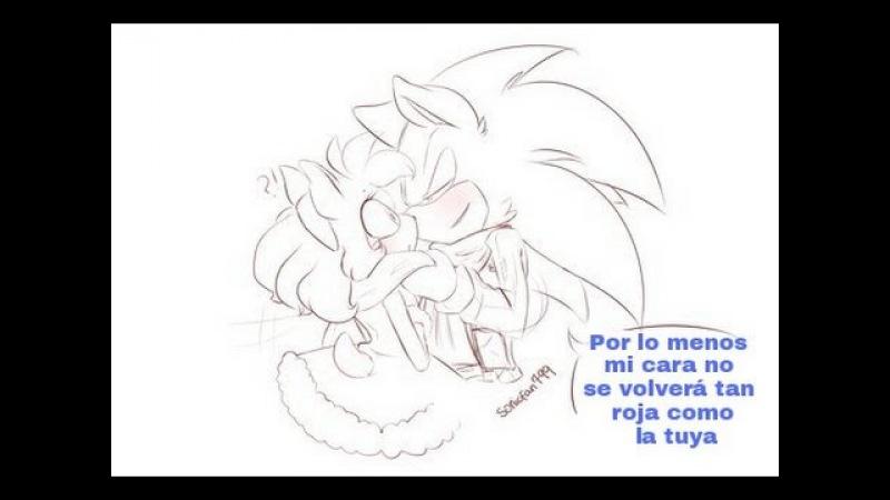 Sonamy cómic ~ La Nariz Roja de Sonic ☆ミMini Comic Español☆彡