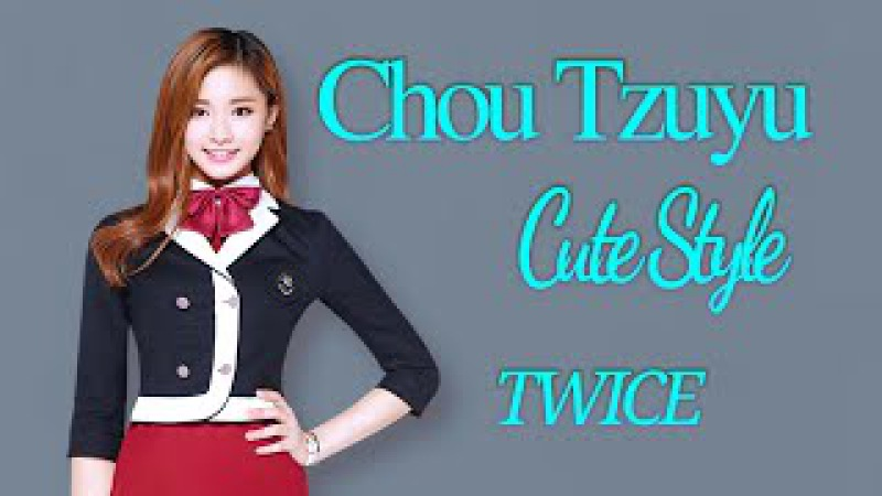 K-POP Idols_ ''TWICE'' Tzuyu Most Beautiful Moments With Her Cute Style