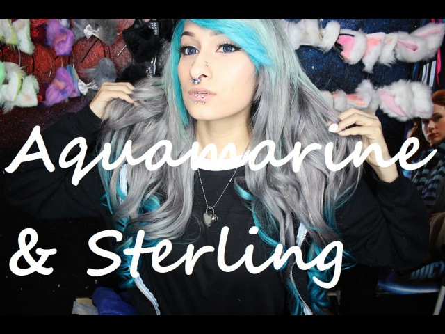 Dyeing My Hair With Aquamarine Sterling Arctic Fox