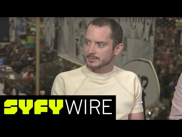 Dirk Gently's Elijah Wood and Co-Stars Preview Season 2 | New York Comic-Con 2017 | SYFY WIRE