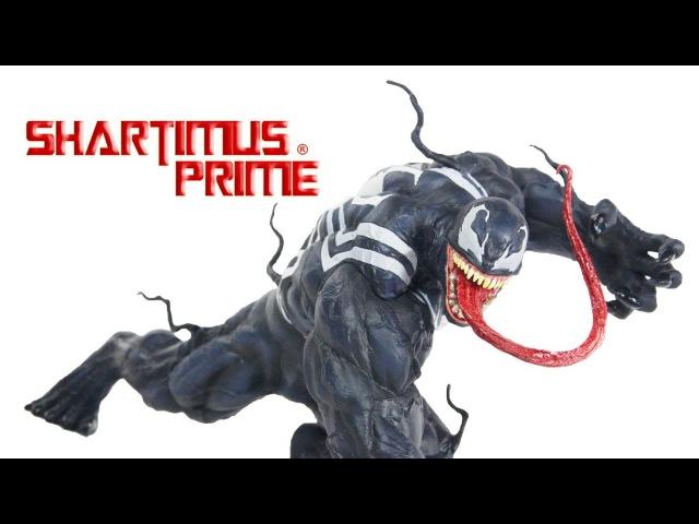 Venom Kotobukiya ArtFX Marvel NOW Spider-Man Comic Statue Review