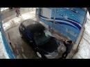 Установка видеонаблюдения на автомойке с удаленным доступом #видеонаблюдениерус #видеонаблюдение  #видеонаблюдениенаавтомойке