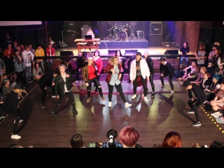 Red spark - bts - not today - k-pop cover battle stage 1.2