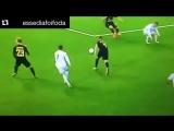 Неудачная попытка Криштиану повторить финт Роналдиньо
