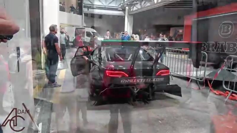 Очень громкий Nissan S14 Silvia