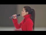 Исполнительница гимна России перед финалом ЧМ