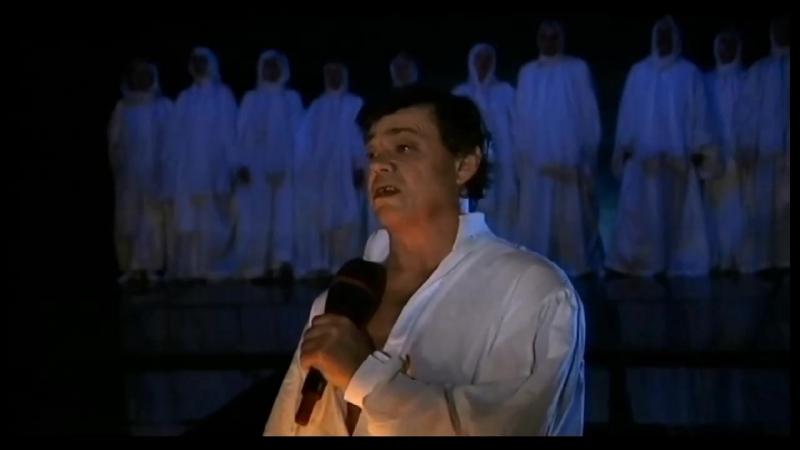 Принесите карты открытий, Н. Караченцов, 2004 г., спектакль-мистерия А. Рыбникова Юнона и Авось