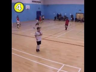 Отличная командная комбинация с мини-футбола