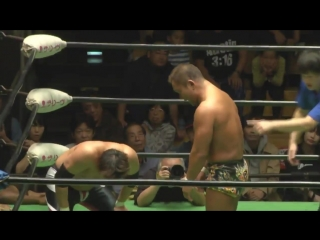 Atsushi Kotoge vs. Masato Tanaka (NOAH - Global League 2017 - Day 6)