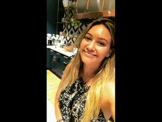 Instagram Stories Hilary Duff | 07.09.17